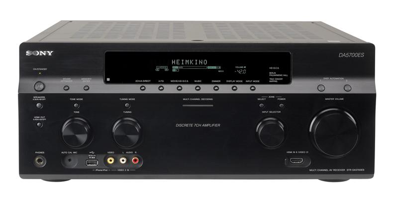 Test AV-Receiver - Sony STR-DA5700ES - sehr gut
