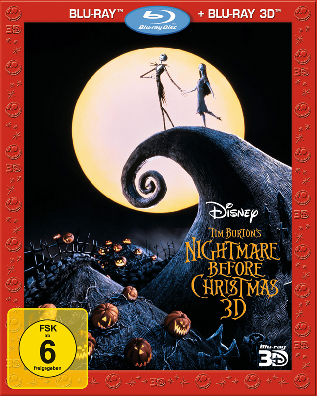 ... Blu-ray Film - Nightmare before Christmas (Walt Disney) - sehr gut