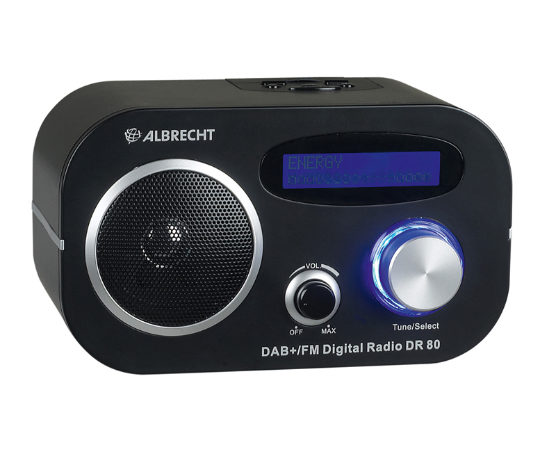test dab radio albrecht dr80 sehr gut. Black Bedroom Furniture Sets. Home Design Ideas