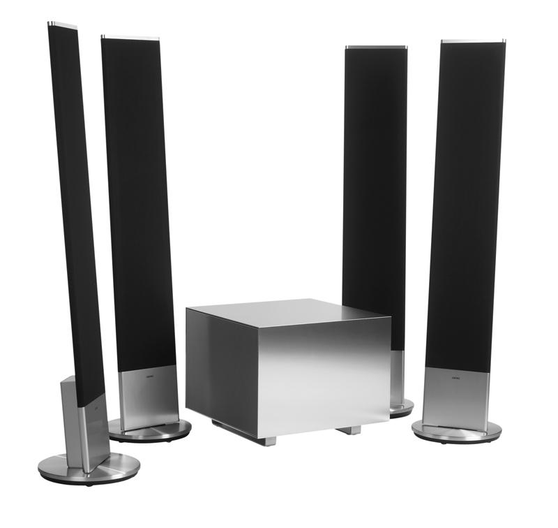 inspiration f r ein lautsprecher setup inkl standl sung loewe friends. Black Bedroom Furniture Sets. Home Design Ideas
