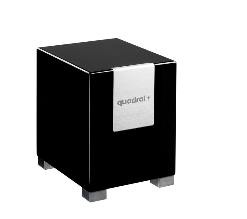 test subwoofer home quadral qube 8 sehr gut. Black Bedroom Furniture Sets. Home Design Ideas